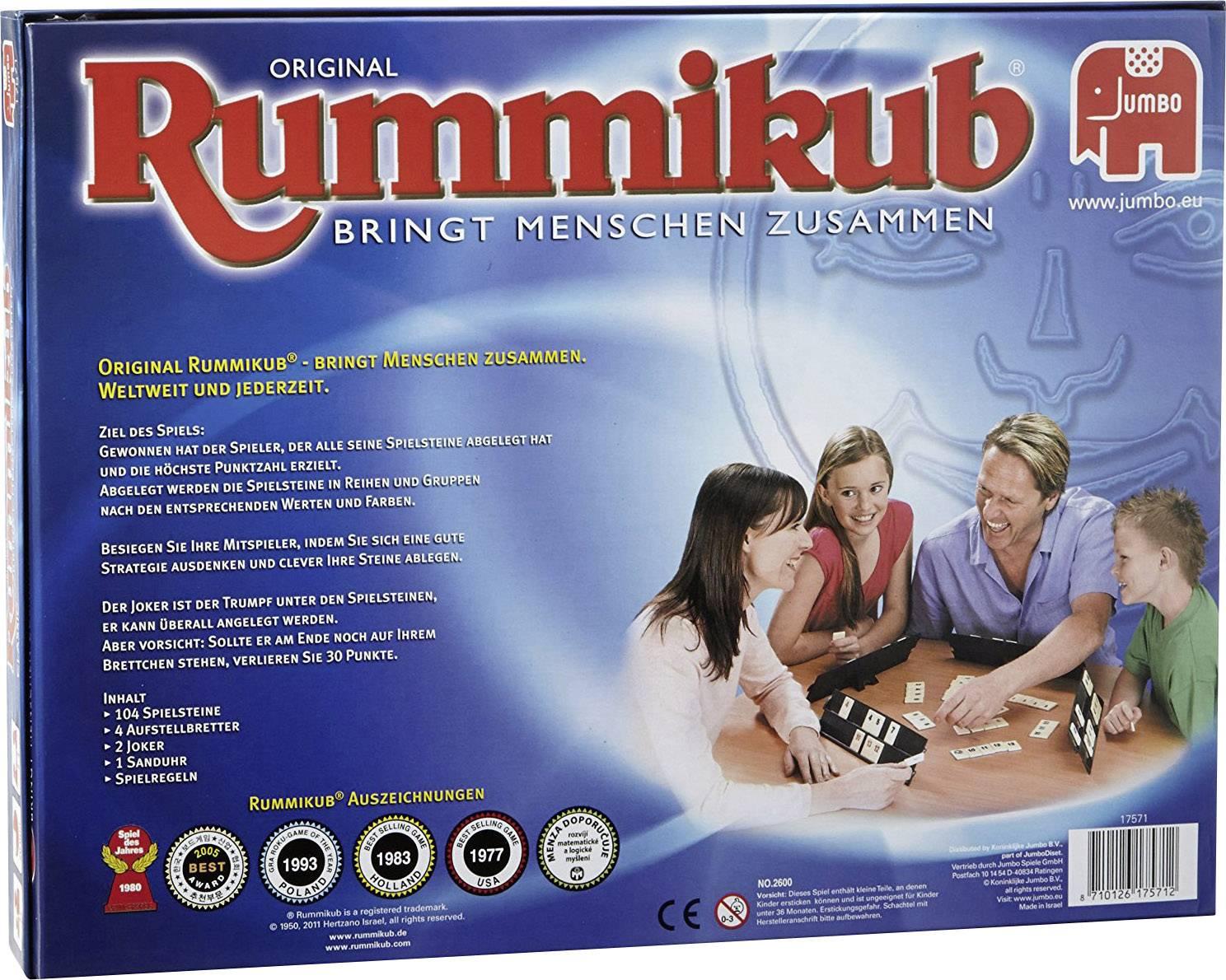 Jumbo Rummikub