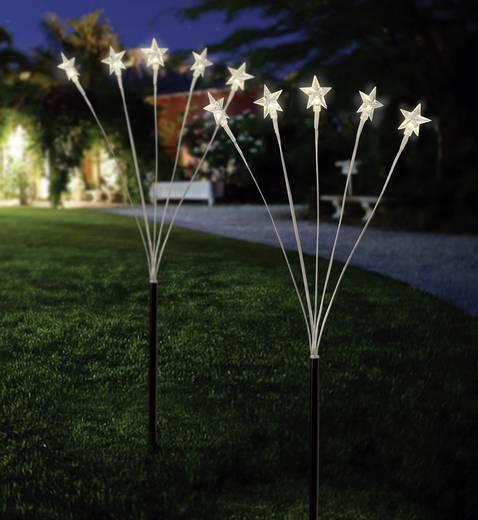 Kültéri, leszúrható dekor világítás, csillagok, 2710A001