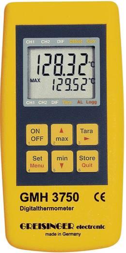 Greisinger precíziós hőmérő és adatgyűjtő Pt100 érzékelőhöz -199.99 - +850 °C Greisinger GMH 3750