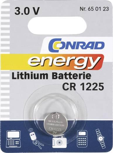 CR1225 lítium gombelem, 3 V, 48 mA, Conrad Energy BR1225, DL1225, ECR1225, KCR1225, KL1225, KECR1225, LM1225