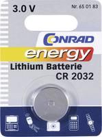 Hozzávaló elem, CR 2032 típus, 3 db (nem szállítjuk vele) Conrad energy