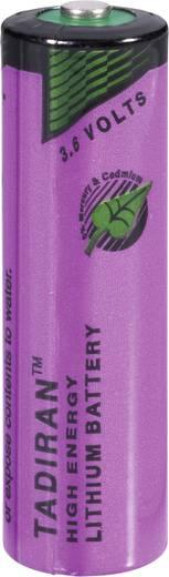 AA lítium ceruzaelem, 3,6V 2200 mAh, 14,7 x 50,5 mm, Tadiran SL760/S