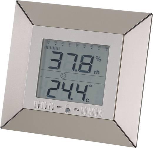 Digitális hőmérő és páratartalom mérő, higrométer, Conrad