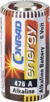 476A alkáli elem, távirányító elem, 6V 145 mAh, A476, E476A, V4034PX, V476A, V476GA, L1325, V34PX, Conrad Energy  Conrad energy