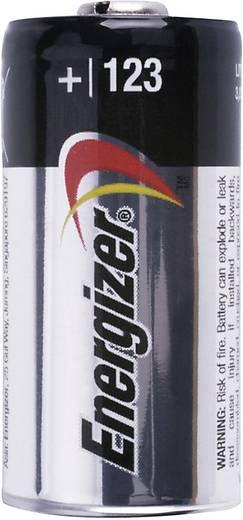 CR123A fotóelem, lítium, 3V 1500 mAh, Energizer EL123AP, K123LA, RL123A, EL123A, DL123A, 5018LC, LR123, VL123
