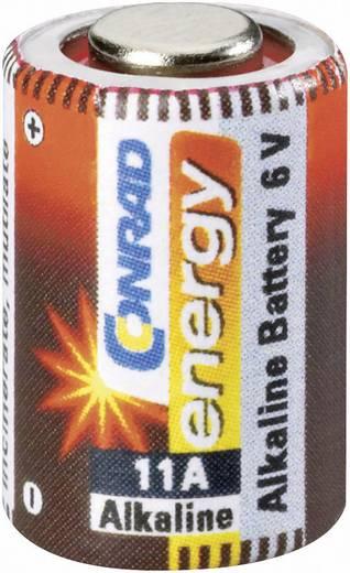 11A alkáli elem, távirányító elem, 6V 57 mAh, Conrad Energy A11, E11A, V11A, V11PX, V11GA, L1016, MN11, G11A