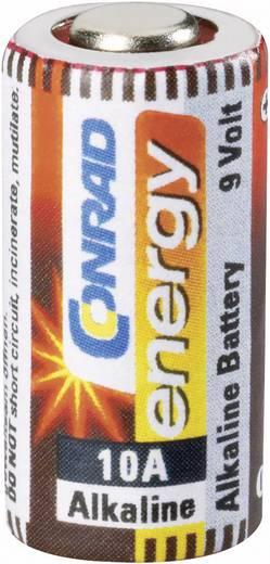 10A alkáli elem, távirányító elem, 9V 57 mAh, Conrad Energy A10, E10A, V10A, V10PX, V10GA, L1021, L1022, MN10