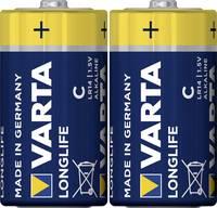 Baby elem C, alkáli mangán, 1,5V, 2 db, Varta Longlife  Varta