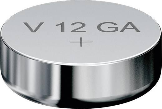 LR43 gombelem, alkáli mangán, 1,5V, 80 mAh, 1 db, Varta AG12, V12GA, G12A, 12GA, PX86A, LR1131, 186, L1142