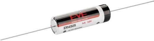 AA lítium ceruzaelem, forrasztható, 3,6V 2600 mAh, forrfüles, 14,5 x 50,5 mm, EVE ER1450