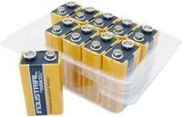 9V-os elem, alkáli mangán, 9V, 10 db, Duracell 6LR61, 6LR21, 6AM6, 6LP3146, MN1604, A1604, E Block, LR22 Duracell