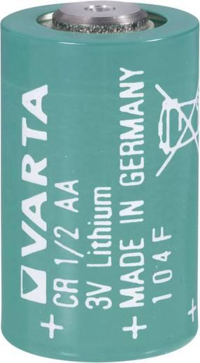 1/2 AA lítium elem, 3V 970 mAh, 15 x 25 mm, Varta CR 1/2 AA