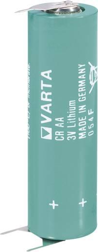 AA lítium ceruzaelem, forrasztható, 3V 2000 mAh, forrfüles, 15 x 50 mm, Varta CR AA SLF