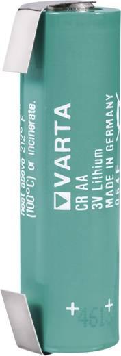 AA lítium ceruzaelem, forrasztható, 3V 2000 mAh, forrfüles, 15 x 50 mm, Varta CR AA LF