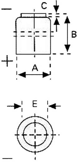 CR1/3N lítium gombelem, 3 V, 170 mA, FDK CR 1/3 N, CR11108, 4LR44, DL1/3N, 2L76, CR1‑3N, K58, K58L, 5008LC, 2LR76
