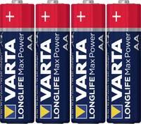 Ceruzaelem AA, alkáli mangán, 1,5V, 4 db, Varta Max Tech LR06, AA, LR6, AAB4E, AM3, 815, E91, LR6N Varta