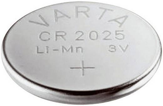 CR2025 lítium gombelem, 3 V, 170 mAh, Varta BR2025, DL2025, ECR2025, KCR2025, KL2025, KECR2025, LM2025