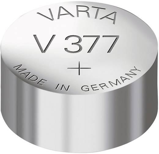 377 gombelem, ezüstoxid, 1,55V, 24 mAh, Varta SR626SW, SR66, SR626, V377, D377, 606, BA, 280-39, SB-AW, RW329