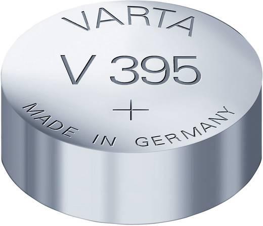 395 gombelem, ezüstoxid, 1,55V, 42 mAh, Varta SR927SW, SR57, SR927, SR926, V395, D395, 610, LA, 280-48, SB-AP