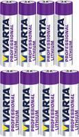 Lítium elemkészlet 4xAAA, 4xAA, Varta Professional (6103301404, 6106301404) Varta