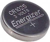 CR1025 lítium gombelem, 3 V, 30 mAh, Energizer BR1025, DL1025, ECR1025, KCR1025, KL1025, KECR1025, LM1025 (E300163500) Energizer