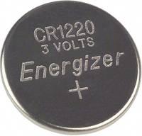 CR1220 lítium gombelem, 3 V, 40 mA, Energizer BR1220, DL1220, ECR1220, KCR1220, KL1220, KECR1220, LM1220 (E300163600) Energizer