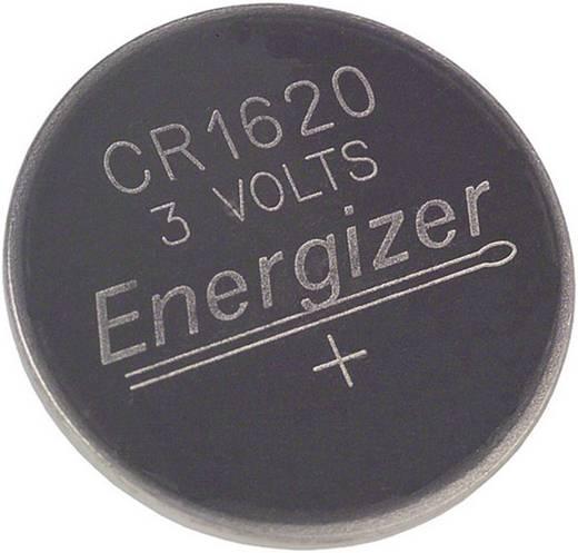 CR1620 lítium gombelem, 3 V, 79 mA, Energizer BR1620, DL1620, ECR1620, KCR1620, KL1620, KECR1620, LM1620