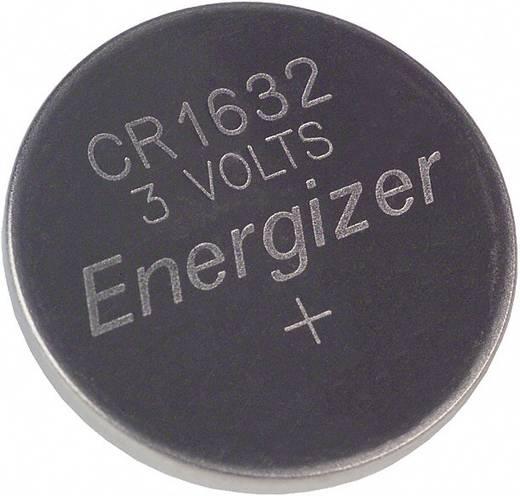 CR1632 lítium gombelem, 3 V, 130 mA, Energizer BR1632, DL1632, ECR1632, KCR1632, KL1632, KECR1632, LM1632