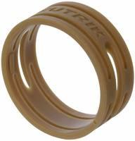 Kábeljelölő gyűrű készlet 10db barna színű Neutrik XXR-SET-1 (XXR-SET-1) Neutrik