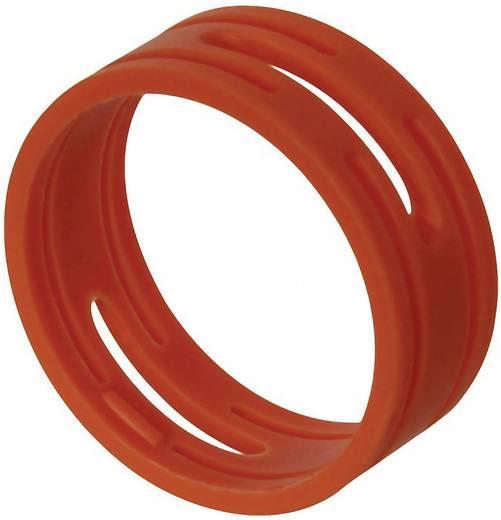 Kábeljelölő gyűrű készlet 10db piros színű Neutrik XXR-SET-2