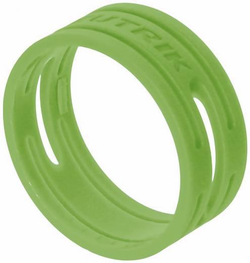 Kábeljelölő gyűrű készlet 10db zöld színű Neutrik XXR-SET-5