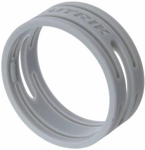 Kábeljelölő gyűrű készlet 10db szürke színű Neutrik XXR-SET-8
