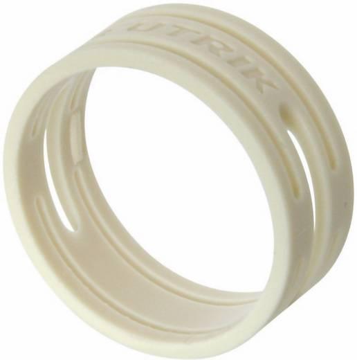 Kábeljelölő gyűrű készlet 10db fehér színű Neutrik XXR-SET-9