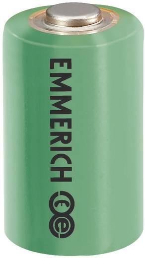 1/2 AA lítium elem, 3,6V 1200 mAh, 14,5 x 25,2 mm, Emmerich