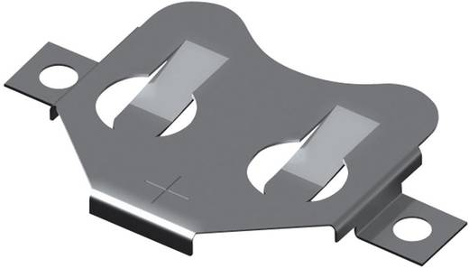 Keystone Gombelemtartó CR2016 gombelemhez (H x Sz x Ma) 30.73 x 19.86 x 2.16 mm