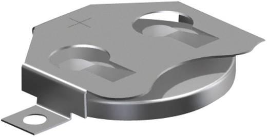 Keystone Gombelemtartó CR2016, CR2020, CR2025 gombelemekhez (H x Sz x Ma) 30.73 x 19.86 x 3.96 mm