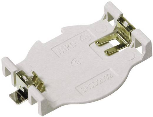 MPD Gombelemtartó CR2032 gombelemekhez, Renata SMD (H x Sz x Ma) 32 x 22.17 x 4.75 mm