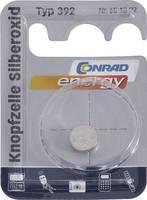 392 gombelem, ezüstoxid, 1,55V, 45 mAh, Conrad Energy SR41W, SR41, SR736, V392, D392, 247B, K, 280-13, SB-B1, RW47 Conrad energy