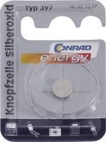 397 gombelem, ezüstoxid, 1,55V, 53 mAh, Conrad Energy SR726SW, SR59, SR726, V397, D397, 607, N, 280-28, SB-AL, RW311 Conrad energy