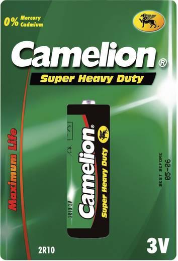 2R10 cink-szén elem, lámpaelem, 3V 950 mAh, Camelion 2R10R, 3010, 2010