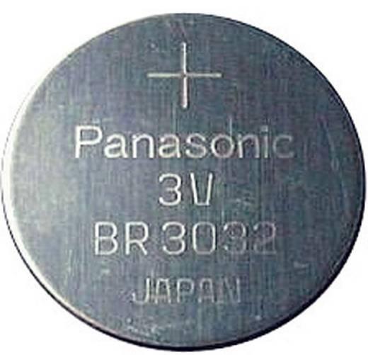 CR3032 lítium gombelem, 3 V, 500 mA, Panasonic BR2032, DL3032, ECR3032, KCR3032, KL3032, KECR3032, LM3032