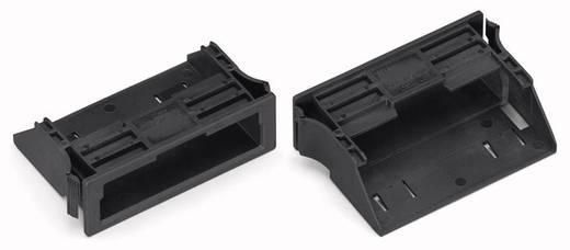 Bepattintható keret, fekete, 100 db, WAGO 770-320