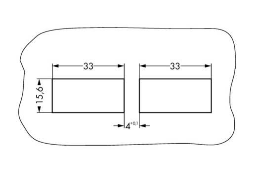 Törésgátló WAGO 770-506/029-000, fekete, 20 db
