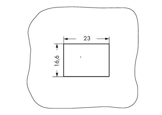 Bepattintható keret WAGO 770-337, fehér, 100 db