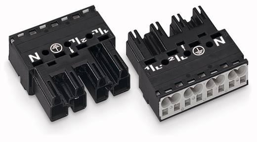 Hálózati csatlakozó dugó, egyenes, pólusszám: 4, 25 A, fehér, WAGO 770-234, 50 db