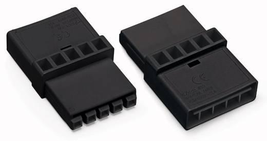 Hálózati köztes alj, pólusszám: 3, fekete, WAGO 890-605, 50 db