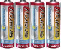 Ceruzaelem AA, alkáli mangán, 1,5V, 4 db, Conrad Energy  Conrad energy