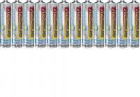 Mikroelem AAA, alkáli mangán, 1,5V, 12 db, Conrad Energy  Conrad energy