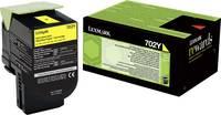 Lexmark Toner 702Y CS310 CS410 CS510 70C20Y0 Eredeti Sárga 1000 oldalak (70C20Y0) Lexmark