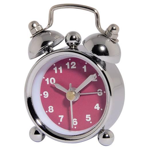 Ébresztőóra, mini, rózsaszín, Hama Nosztalgia